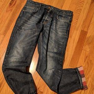 Zara Jeans Denim Collection Men's Jean W 32
